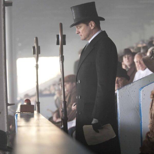 il discorso del re in tv - una scena del film