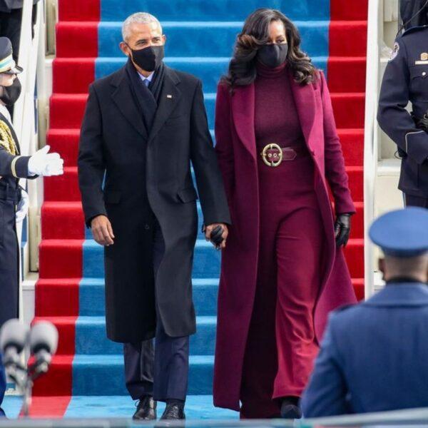 michelle obama all'inauguration day 2021