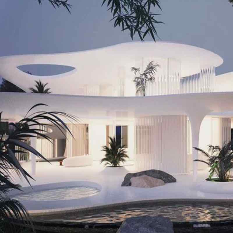 the butterfly architettura