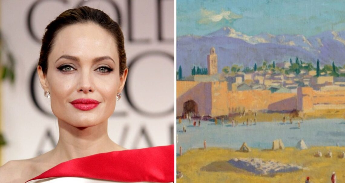 Asta record per il quadro di Churchill venduto da Angelina Jolie