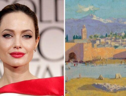 Asta record per il quadro di Churchill venduto da Angelina Jolie