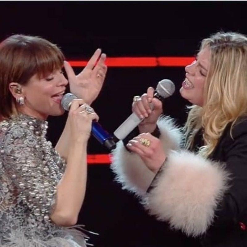 Sanremo quarta serata live